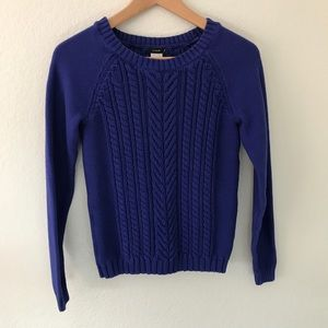 J. Crew Thick Knitted Sweater